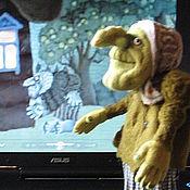 """Куклы и игрушки ручной работы. Ярмарка Мастеров - ручная работа Кукла """"Баба-Яга"""". Handmade."""