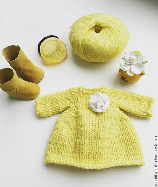 Одежда для кукол ручной работы. Ярмарка Мастеров - ручная работа. Купить Набор для куклы. Handmade. Комбинированный, платье для куклы
