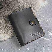 Сумки и аксессуары handmade. Livemaster - original item A capacious purse made of matte leather. Handmade.