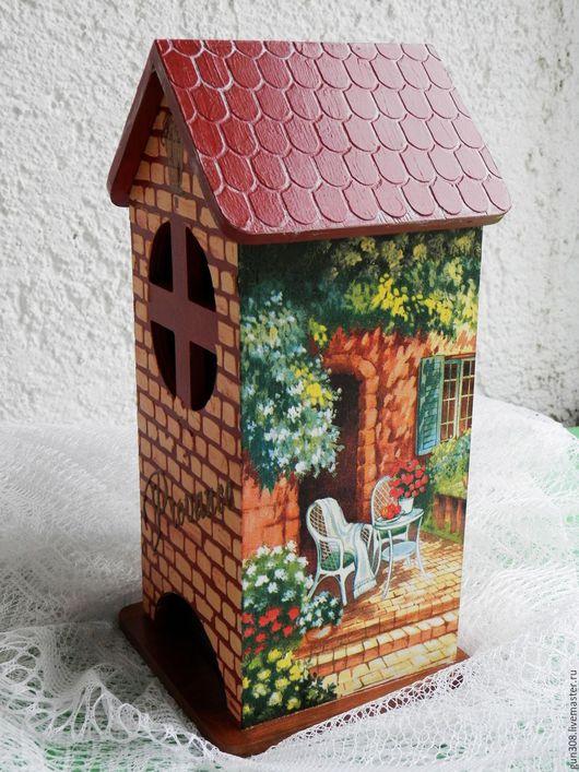 """Кухня ручной работы. Ярмарка Мастеров - ручная работа. Купить Чайный домик """"Provance"""". Handmade. Коричневый, подарок на день рождения"""