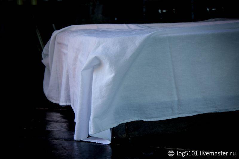 Linen sheet Zephyr-Luxury linen made of soft linen, Sheets, Moscow,  Фото №1