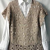 """Одежда ручной работы. Ярмарка Мастеров - ручная работа Безрукавка """"Арабеска"""". Handmade."""