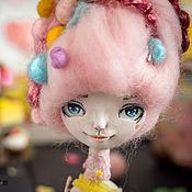 Куклы и игрушки ручной работы. Ярмарка Мастеров - ручная работа Миниатюрная коллекционная кукла Сахар. Handmade.