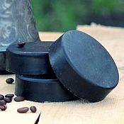 Мыло ручной работы. Ярмарка Мастеров - ручная работа Кофейное мыло-скраб с миндалём и корицей. Handmade.