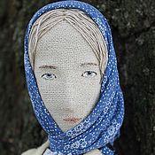 Куклы и игрушки ручной работы. Ярмарка Мастеров - ручная работа Катерина. Сквозь северный лес. Кабинетная кукла. Handmade.