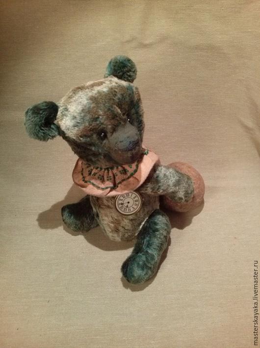 Мишки Тедди ручной работы. Ярмарка Мастеров - ручная работа. Купить Изумрудный Хьюго. Handmade. Изумруд, символ, плюш ссср