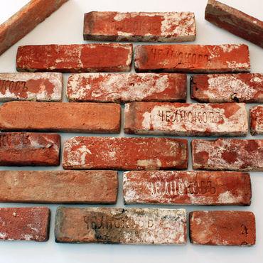 Дизайн и реклама ручной работы. Ярмарка Мастеров - ручная работа Плитка из старинного кирпича. Handmade.