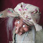 Куклы и игрушки ручной работы. Ярмарка Мастеров - ручная работа Раскаявшаяся Баба-Яга. Handmade.