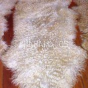 Для дома и интерьера ручной работы. Ярмарка Мастеров - ручная работа Шкурка ангорской пуховой козы для тресс и локонов. Handmade.