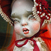 Куклы и игрушки ручной работы. Ярмарка Мастеров - ручная работа Мухомор Буся. Handmade.