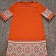 """Одежда для девочек, ручной работы. Ярмарка Мастеров - ручная работа. Купить Платье для девочки """"Оранжевое настроение"""". Handmade. Рыжий"""