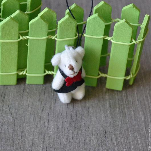 Куклы и игрушки ручной работы. Ярмарка Мастеров - ручная работа. Купить Мишка для игрушек. Handmade. Белый, мишка в подарок, мишутка