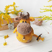 Куклы и игрушки handmade. Livemaster - original item Bull Peter. knitted toy. Handmade.