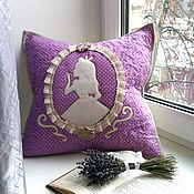 Pillow handmade. Livemaster - original item Baby patchwork pillows Alice in Wonderland patchwork. Handmade.