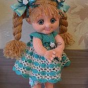 """Куклы и игрушки ручной работы. Ярмарка Мастеров - ручная работа Кукла вязаная """"Рита"""". Handmade."""