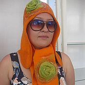 """Аксессуары ручной работы. Ярмарка Мастеров - ручная работа Комплект """"Оранж"""". Handmade."""