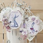 Подарки к праздникам ручной работы. Ярмарка Мастеров - ручная работа Мягкие сердечки-валентинки. Handmade.