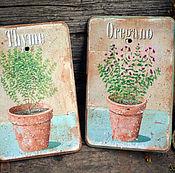 """Картины и панно ручной работы. Ярмарка Мастеров - ручная работа Настенные панно, """"Пряные травы"""" в стиле Прованс. Handmade."""