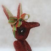 Куклы и игрушки ручной работы. Ярмарка Мастеров - ручная работа плюшевая лиса. Handmade.