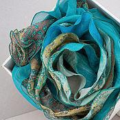 Аксессуары ручной работы. Ярмарка Мастеров - ручная работа Валяный шарф Португалия. Handmade.