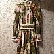 Платья ручной работы. Ярмарка Мастеров - ручная работа. Купить Платье стиль А-ля Рус Воспоминание..... Handmade.