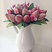 Для дома и интерьера ручной работы. Ярмарка Мастеров - ручная работа Сентябрь Букет тюльпанов. Handmade.