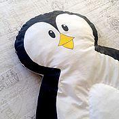 Для дома и интерьера ручной работы. Ярмарка Мастеров - ручная работа Стеганый коврик для игр Пингвин. Handmade.