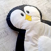Для дома и интерьера handmade. Livemaster - original item Quilted Mat for games Penguin. Handmade.
