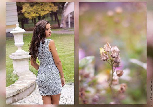 """Платья ручной работы. Ярмарка Мастеров - ручная работа. Купить Платье """"Однажды"""". Handmade. Платье вязаное"""