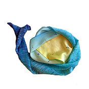 Аксессуары ручной работы. Ярмарка Мастеров - ручная работа Глубокое синее море. Handmade.