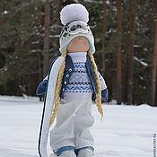 Куклы и игрушки ручной работы. Ярмарка Мастеров - ручная работа Сноубордистка 2013. Handmade.