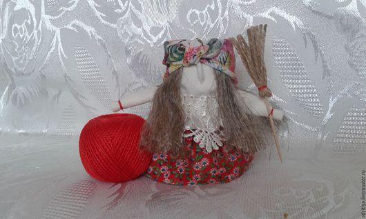 Народные куклы ручной работы. Ярмарка Мастеров - ручная работа. Купить Бабуся Ягуся. Handmade. Комбинированный, метла, кукла