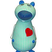 Куклы и игрушки ручной работы. Ярмарка Мастеров - ручная работа Мышка Любовь (антистресс). Handmade.