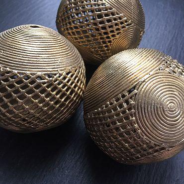 Материалы для творчества ручной работы. Ярмарка Мастеров - ручная работа СЕТИ - латунные шары. Handmade.