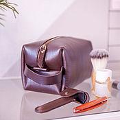 Сумки и аксессуары handmade. Livemaster - original item Travel bag with zipper cosmetic bag. Handmade.
