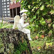 Фигуры садовые ручной работы. Ярмарка Мастеров - ручная работа Ангел. Handmade.
