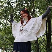 Одежда ручной работы. Ярмарка Мастеров - ручная работа Теплый свитер на зиму в стиле бохо. Handmade.