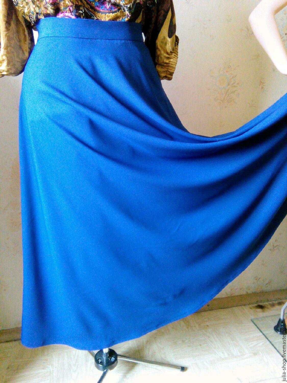 Длинная юбка из габардина сшить 12