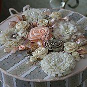 Подарки к праздникам ручной работы. Ярмарка Мастеров - ручная работа Шкатулка-коробочка для рукоделия. Handmade.