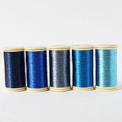 Нитки для шитья и вышивки в ассортименте