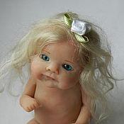 Куклы и игрушки ручной работы. Ярмарка Мастеров - ручная работа Голубоглазая малышка. Handmade.