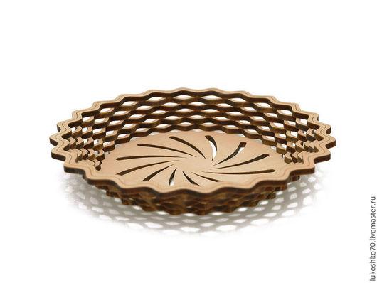 Конфетницы, сахарницы ручной работы. Ярмарка Мастеров - ручная работа. Купить Тарелка круглая из кедра. Деревянная тарелка. Handmade. Дерево