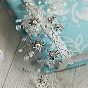 Свадебный салон handmade. Livemaster - original item Twig, wreath for hair. Handmade.