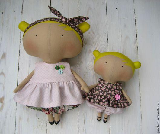 Куклы Тильды ручной работы. Ярмарка Мастеров - ручная работа. Купить Sweetheart Doll ( Милая кукла) Мама и дочка. Handmade.