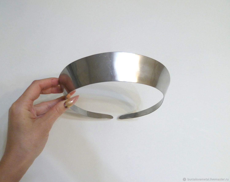 3.5 см, основа для изготовления кокошника, Аксессуары для вышивки, Тюмень,  Фото №1