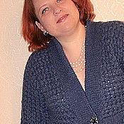 """Одежда ручной работы. Ярмарка Мастеров - ручная работа Пальто """"Хвилі Дніпра"""". Handmade."""
