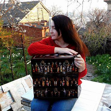 """Для дома и интерьера ручной работы. Ярмарка Мастеров - ручная работа Мини комод """"Аптечный"""" Аптечка. Handmade."""