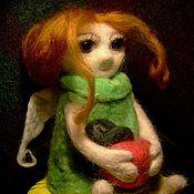 Куклы и игрушки ручной работы. Ярмарка Мастеров - ручная работа Девочка Ангел. Handmade.