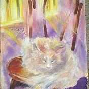 """Картины и панно handmade. Livemaster - original item Картина """"Венский стул"""". Handmade."""