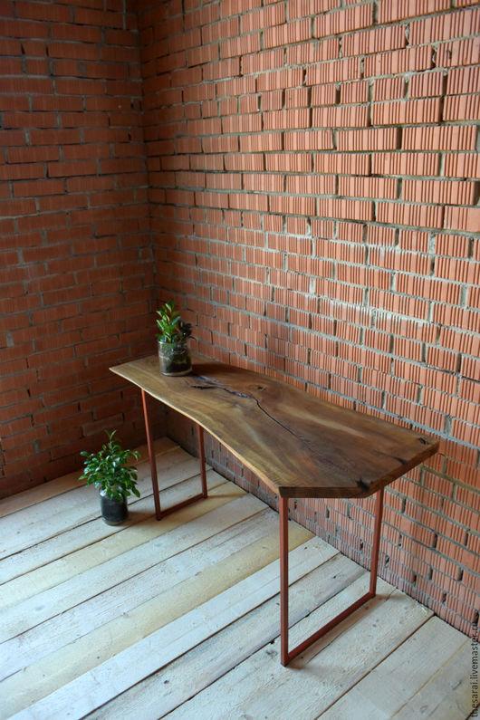 Консольный стол `Dub Pecan`